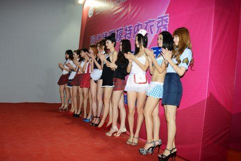 【驚愕】中国の下着ファッションショー、意図的にハミマンしてるとしか・・・(画像24枚)・17枚目