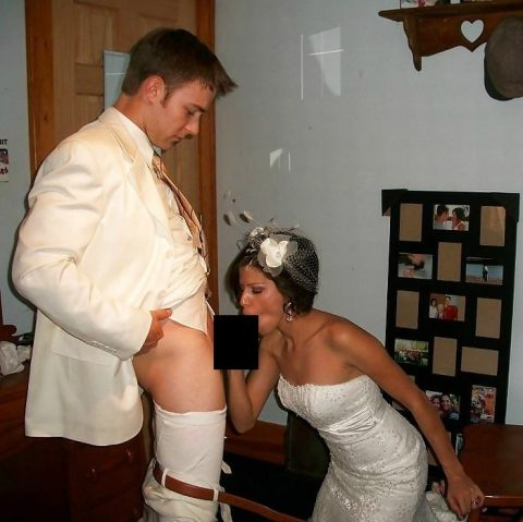【素人】神父「では、誓いの口づけをマンコに…」、ハメ外し過ぎな花嫁画像集(25枚)・18枚目