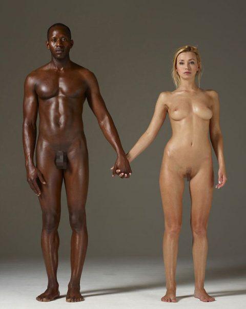 コントラストが美しい黒人と白人のセクロス画像集(25枚)・25枚目