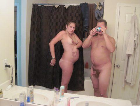 【画像26枚】妊婦が全裸自撮りするのは分かるけどなんでうpしちゃうの???・3枚目