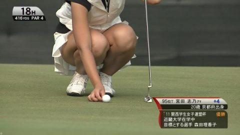【画像】女子プロゴルフはグリーン周りがベスポジな理由(30枚)・2枚目