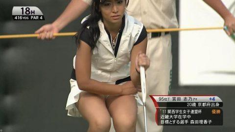 【画像】女子プロゴルフはグリーン周りがベスポジな理由(30枚)・8枚目
