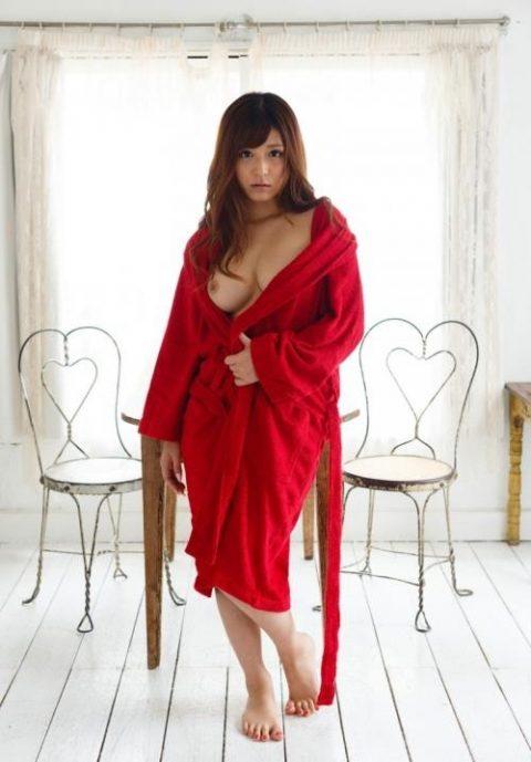 """バスローブって""""お風呂~セックス""""の間に着るために作られたんだよな???(画像25枚)・23枚目"""