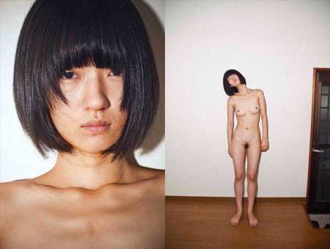 兎丸愛美のぬーど写真…遺書代わりにネットで知り合った男性に裸を撮らせたぬーどモデル… 写真18枚