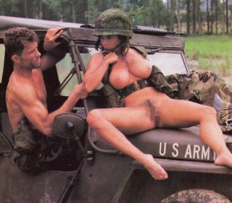 【画像24枚】女性兵士のもう一つの仕事がこちらwwwwwwwwwwwwww・22枚目