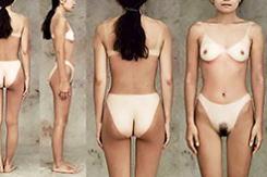 90年代に発行されたヌードデッサン集から有能日焼け女子が発掘されるwww(画像あり)
