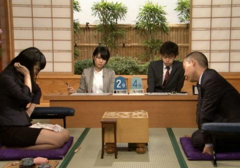 (※時事ネタ)モデル女流棋士さんミニスカートで将棋の試合に挑むwwwwwwww →「これ作戦やろ」「しかもEテレ」「ボッキ不可避やんけ」(写真あり)