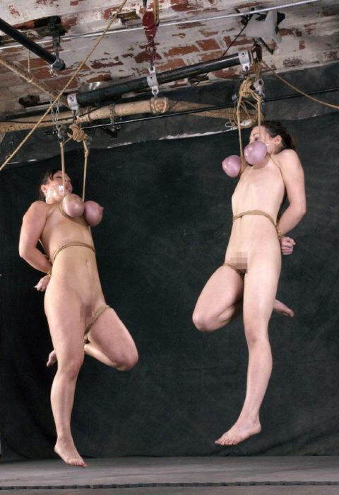【残酷過ぎ】乳だけで女を吊ってみた結果wwwwwwwwwwwwwwwwww(画像24枚)・11枚目