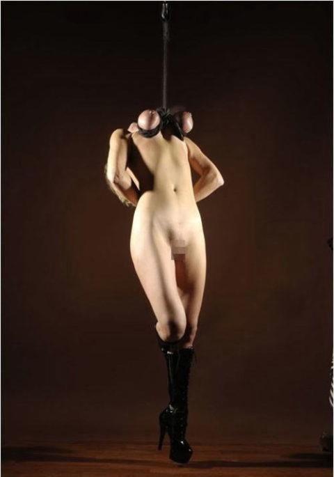 【残酷過ぎ】乳だけで女を吊ってみた結果wwwwwwwwwwwwwwwwww(画像24枚)・14枚目