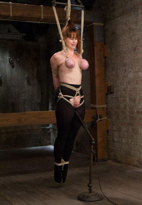 【残酷過ぎ】乳だけで女を吊ってみた結果wwwwwwwwwwwwwwwwww(画像24枚)・18枚目