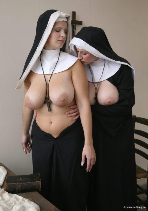 絶対に処女じゃなさそうな修道女のエロ画像集(29枚)・1枚目