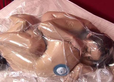 【誰得】女を布団圧縮袋に入れて密封した結果→死ぬやろこれwwwwwwwwwwwwww(画像30枚)・21枚目