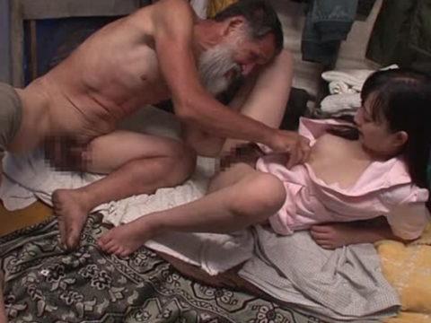 ガチのホームレスとセックスするとかいう崖っぷちAV女優への試練wwwwwwwww(画像47枚)・1枚目