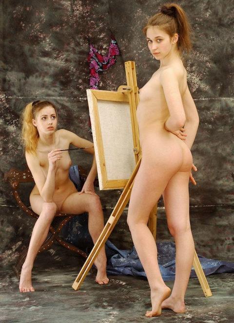 ガチのヌードモデル画像集。オカズにできるか微妙なところ・・・(30枚)・15枚目