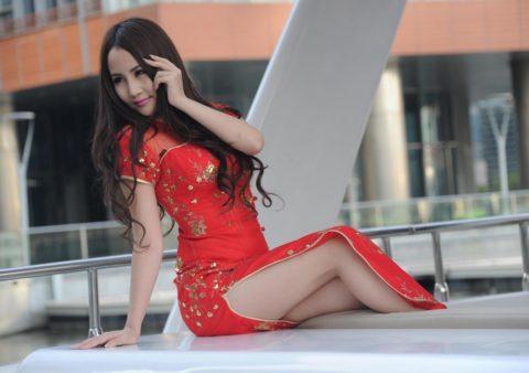 チャイナドレスとかいう男の視線を惹きつける女の戦闘服wwwwwwwww(画像28枚)・28枚目