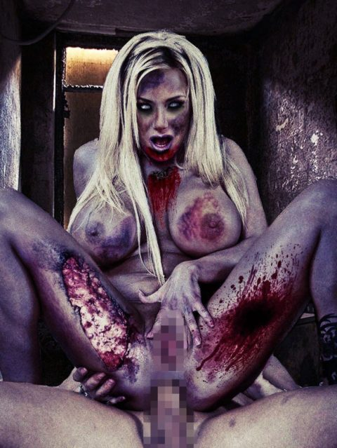 【グロ注意】ハロウィンの夜はこんな女とのセックスはいかが???(画像24枚)・1枚目
