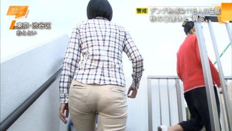 【パンティライン】男はなぜかこれに興奮するっていう不思議(TVキャプ画像30枚)・1枚目