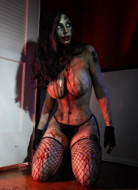 【グロ注意】ハロウィンの夜はこんな女とのセックスはいかが???(画像24枚)・20枚目