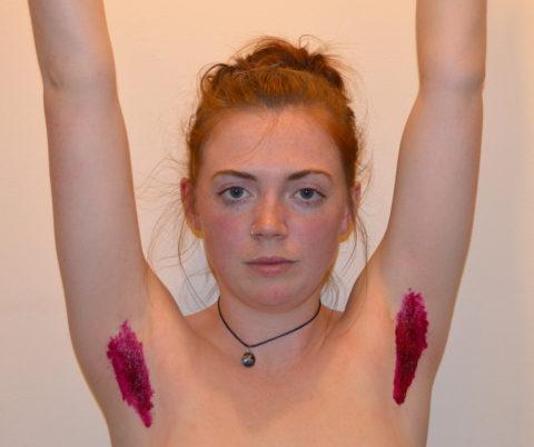 【グロ認定】腋毛カラーリングがアメリカで流行中だと・・・!?(画像28枚)・28枚目