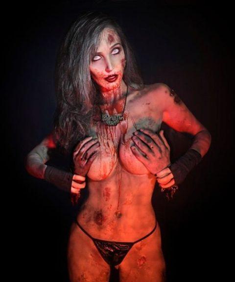【グロ注意】ハロウィンの夜はこんな女とのセックスはいかが???(画像24枚)・4枚目
