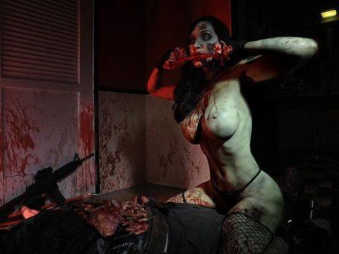 【グロ注意】ハロウィンの夜はこんな女とのセックスはいかが???(画像24枚)・5枚目