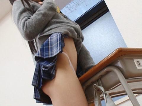 教室でオナニーする女子の鉄板メニューがこちらwwwwwwww(画像30枚)・1枚目