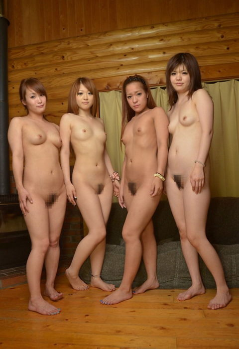 複数の女がマンコを一斉に見せてくれてるエロ画像ください(他30枚)・15枚目