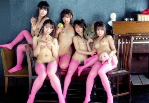 複数の女がマンコを一斉に見せてくれてるエロ画像ください(他30枚)・23枚目