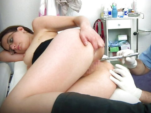 病院でアナル検診されてる羞恥エロ画像(30枚)