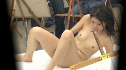 ヌードモデルやってて一番ひどかったポーズがこちら・・・(画像あり)・8枚目