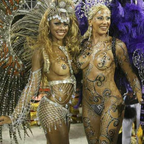サンバカーニバル、ただの露出狂祭りだった・・・(画像30枚)・10枚目