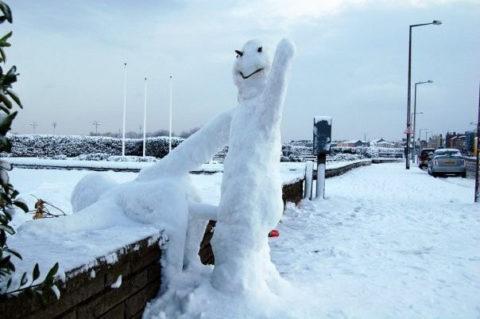 絶対に子供に見せてはいけない大人の雪ダルマ画像集(30枚)・13枚目
