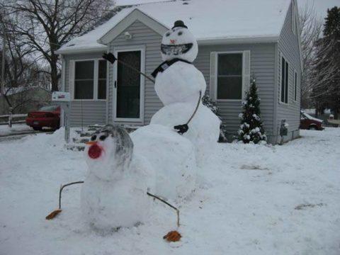 絶対に子供に見せてはいけない大人の雪ダルマ画像集(30枚)・19枚目