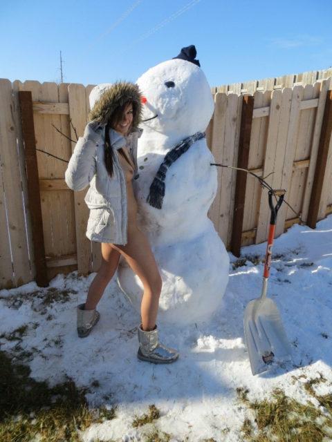 絶対に子供に見せてはいけない大人の雪ダルマ画像集(30枚)・21枚目