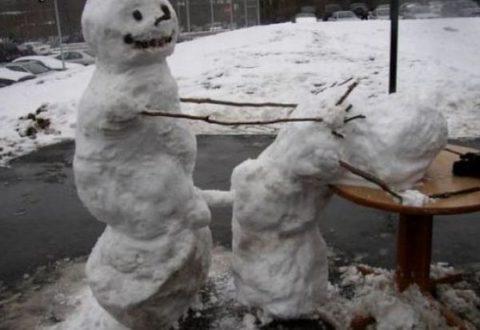 絶対に子供に見せてはいけない大人の雪ダルマ画像集(30枚)・22枚目