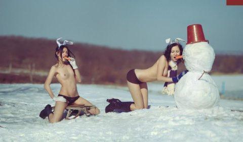 絶対に子供に見せてはいけない大人の雪ダルマ画像集(30枚)・25枚目