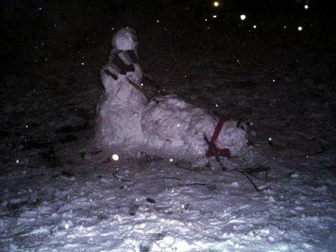 絶対に子供に見せてはいけない大人の雪ダルマ画像集(30枚)・26枚目