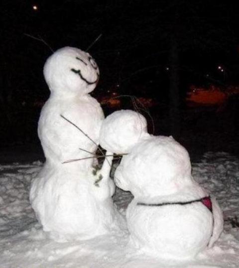 絶対に子供に見せてはいけない大人の雪ダルマ画像集(30枚)・28枚目