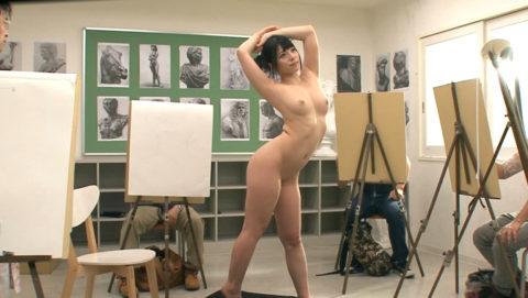 ヌードモデルやってて一番ひどかったポーズがこちら・・・(画像あり)・3枚目