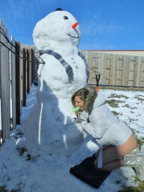 絶対に子供に見せてはいけない大人の雪ダルマ画像集(30枚)・30枚目