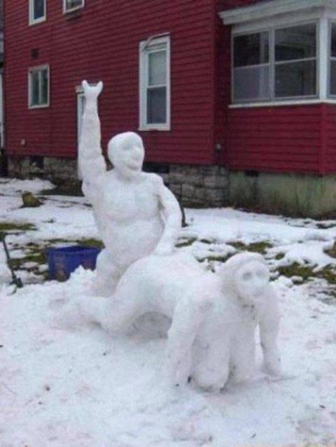 絶対に子供に見せてはいけない大人の雪ダルマ画像集(30枚)・6枚目