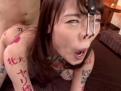 【H,エロ画像】(豚鼻注意)このSM器具を付けてビデオに出たらもう終わりだと思う・・・(画像30枚)