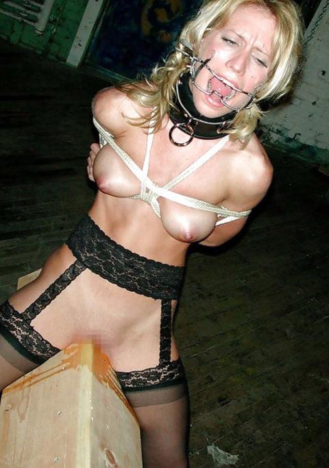 【SM調教】三角木馬とかいうマンコを破壊しかねない拷問器具怖すぎwwwwwwwww(画像33枚)・26枚目