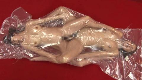 【真似禁止】全裸の女を布団圧縮袋に入れて圧縮したらこうなる・・・(画像30枚)・28枚目