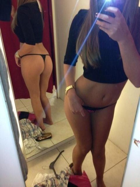 【イミフ】試着室で服着る前に裸を自撮りする女ってなんなの?????(画像30枚)・6枚目