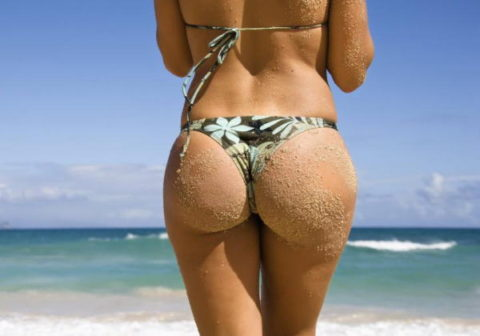 (お尻マニア)ビーチで見る女のお尻はこれが一番ムラムラするって事で満場一致だろwwwwwwwwwwwwwwww