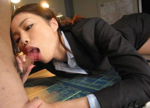【セクハラ注意】性処理専用の女性事務員のエロ画像集(30枚)・14枚目