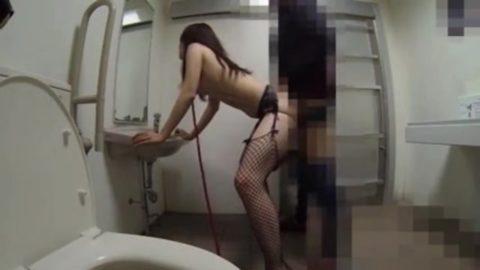 【画像22枚】多目的トイレに入った男女がなかなか出てこない→こうなってますwwwwwww・14枚目