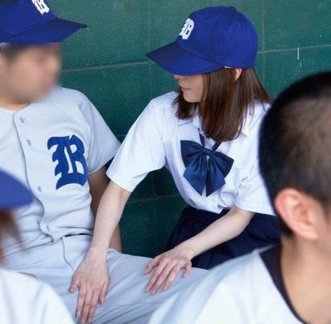 【エロ注意】部活のマネージャーは男子の頭の中でこうされてますwwwwwwww(画像30枚)・18枚目