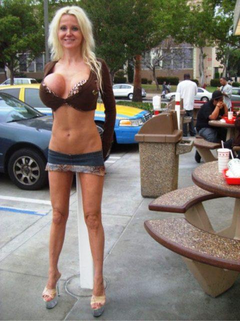 海外の着衣巨乳女たち、嘘乳すぎて萎える件・・・・・・(画像30枚)・18枚目